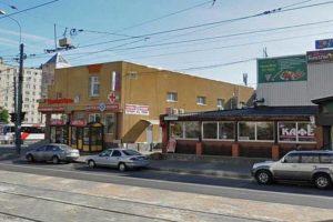Аптека Невис на улице Гашека