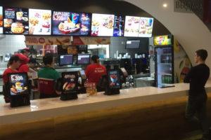 Круглосуточный KFC у метро Адмиралтейская