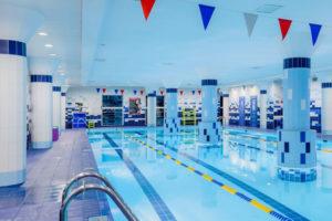 Бассейн в фитнес-клубе на Лиговском