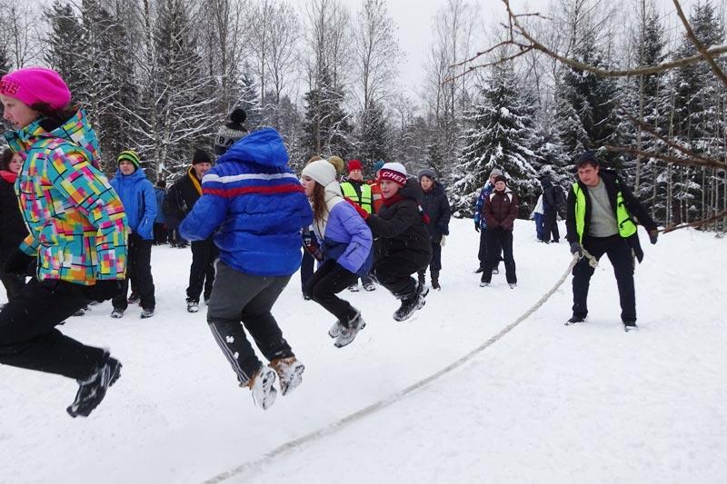 Развлечения для детей на Лыжной стреле
