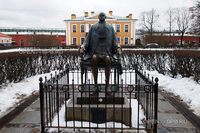 Памятник Петру I (скульптора Шемякина)