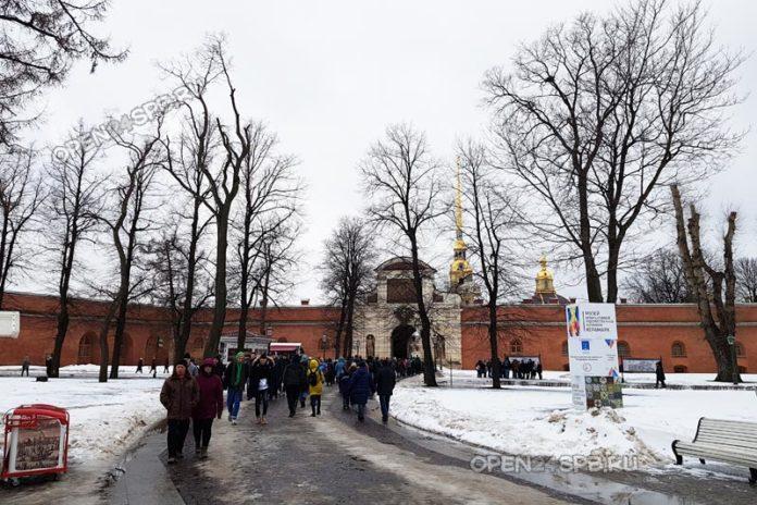 Петропавловская крепость в Санкт-Петербурге