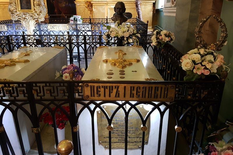саркофаг Петра I