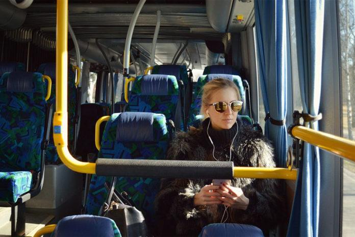 Ночной автобус в Санкт-Петербурге