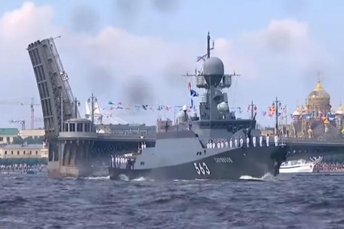 День Военно-Морского Флота в Питере
