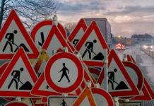 Дорожные работы в Санкт-Петербурге