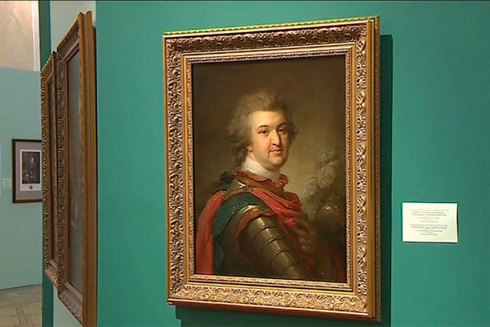 Портрет светлейшего князя Г. А. Потемкина-Таврического
