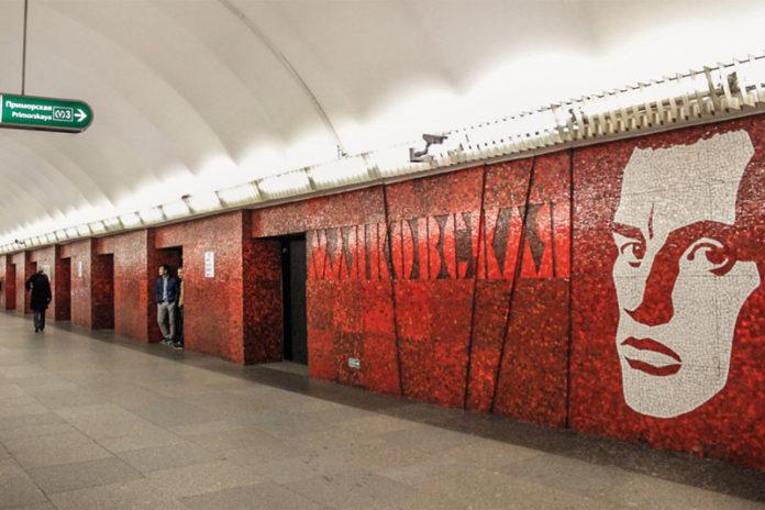 метро Маяковская в Санкт-Петербурге