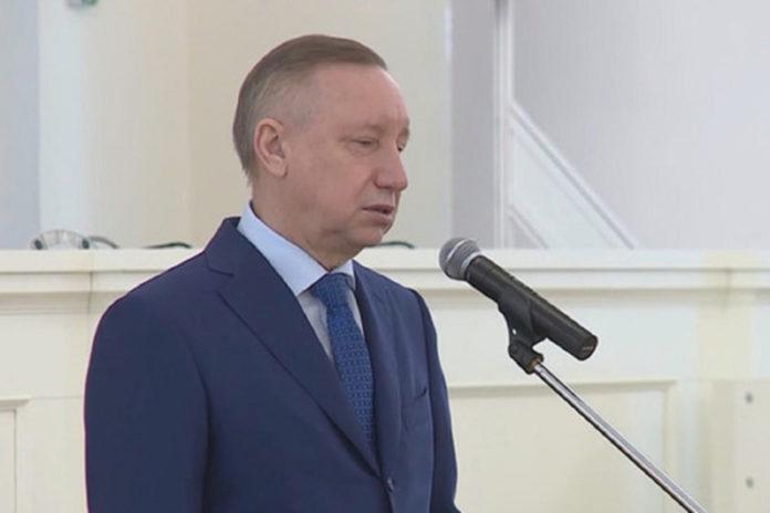 Александр Беглов без усов